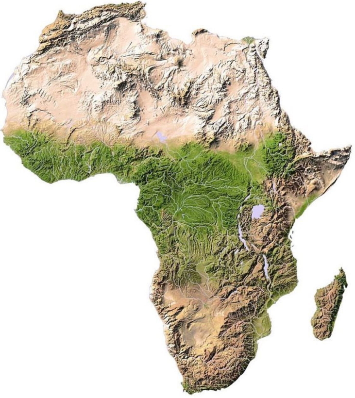 African Topography