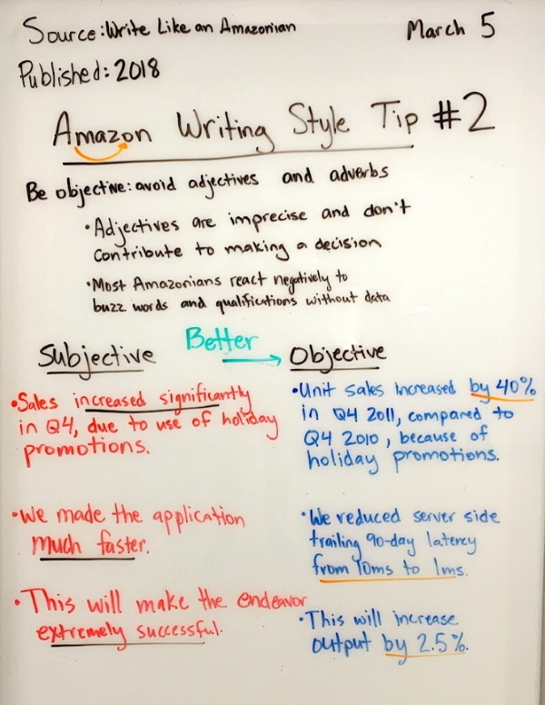 Amazon Writing 2