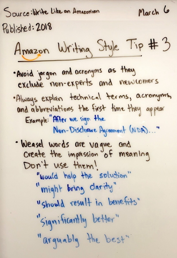 Amazon Writing 3