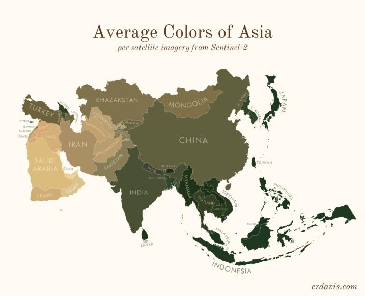 Asia Colours