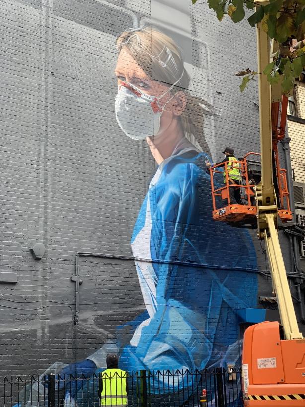 Medic Graffiti