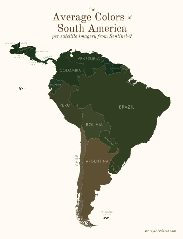 South America Colours